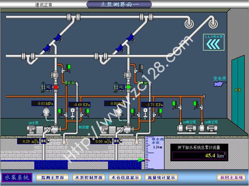 地面泵房平面设计图
